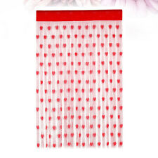 2pcs Curtains Celebration Door Curtain Photo Backdrop for Valentine's Day Party