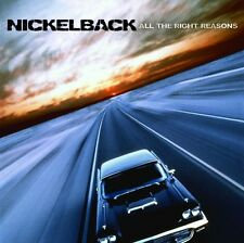 """NICKELBACK """"ALL THE RIGHT REASONS"""" CD NEW"""