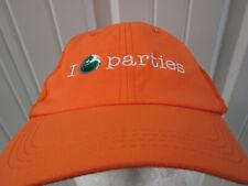 Vintage Miami Sony Erickson Tennis Open 2009 I Love Parties Sewn Strapback Hat