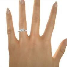 DELICATE AWESOME 1.0 CARAT G SI1 PRINCESS CUT DIAMOND SOLITAIRE RING PLATINUM