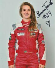 2018 Bruna Tomaselli signed Mazda Road To Indy MRTI USF2000 8x10 Press Photo