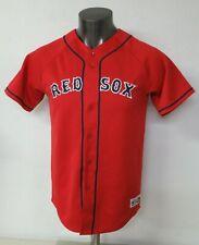 Vintage Majestic Red Sox Jersey Jason Varitek 33 Size XL Actual S/M Polyester