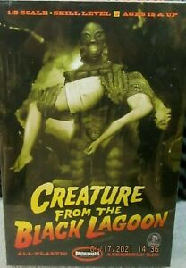 CREATURE FROM THE BLACK LAGOON  W / GIRL DIORAMA  SKILL 3 ,  MINT FACTORY SEALED