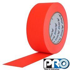 Pro Tapes Artist Tape 3/4 Inch x 60 yards Fluorescent Orange