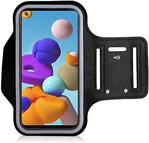 Sports Arm Band Phone Holder Bag Running Gym Armband Exercise All Samsung Phones