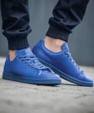 c96e265c6a7da adidas Originals Stan Smith Adicolor Blue Mens Casual Shoes Trainers S80246  UK 9