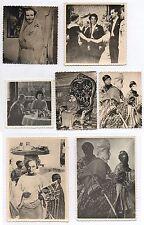 PHOTO Lot 7 photos Montage Trucage Photomontage Vers 1960 Tête Curiosité Étrange