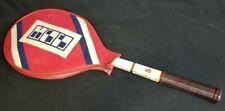 Vintage Spalding pro model tennis racquet W.A. Carl Bowyer
