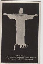 Brazil, Rio De Janeiro, Mon. a Christo Redemptor Visto Noite RP Postcard, B199