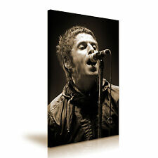 Liam Gallagher Rock Band Music Canvas Wall Art Picture Print A1 Size 50x76cm