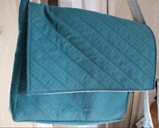 Green satchel handmade bag