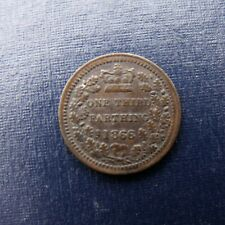 More details for 1866 victoria third farthing recieve the coin pictured free uk p&p