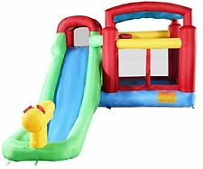 Inflatable Moonwalk Water Slide Pool Bounce House Jumper Bouncer Castle