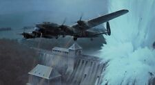 ROBERT TAYLOR Breaching the Eder Dam DAMBUSTERS Lancaster Bombers/Bouncing Bomb