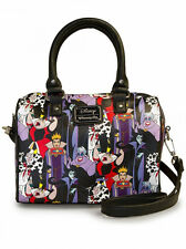 Disney Villains Purse Pebble Duffle Handbag Loungefly NEW RELEASE Maleficent