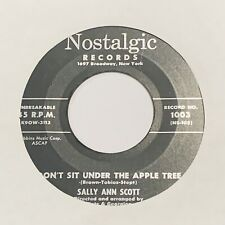 TEEN ROCKABILLY CHICK- SALLY ANN SCOTT - DONT SIT UNDER THE APPLE TREE VG++