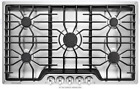 """Frigidaire FFGC3626SS 36"""" Stainless Steel 5 Burner Gas Cooktop photo"""