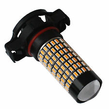 2* 158SMD Amber Yellow PSY24W  Projector Lens LED Car Turn Signal Fog Light DRL