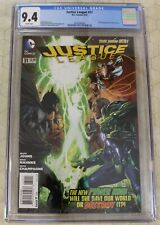 JUSTICE LEAGUE vol.1 (2011) #31 CGC 9.4 1st Full Appearance Jessica Cruz (DC Com
