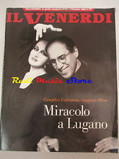 rivista IL VENERDI 531/1998 SUPPLEMENTO DE LA REPUBBLICA Celentano e Mina  No cd