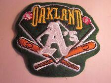 "Oakland Athletics 3 1/2"" x 3"" sew on Logo Patch Baseball"