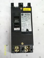 TOSHIBA NO-FUSE 15A 15 AMP 2 POLE 600VAC CIRCUIT BREAKER , S30B