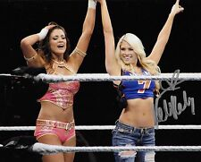 KELLY KELLY WWE DIVA SIGNED AUTOGRAPH 8X10 PHOTO #5 W/ PROOF