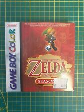 GAME BOY GAMEBOY COLOR GB BOXED BOITE LEGEND OF ZELDA ORACLE OF THE SEASONS EUR