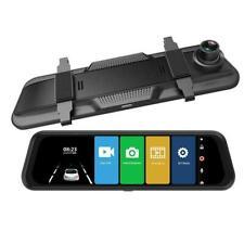 "10"" HD 1080P Dual Lens Car DVR Dash Cam Video Camera Recorder Rearview I9W4"