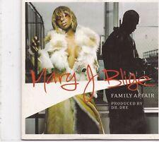 Mary J Blige-Family Affair cd single