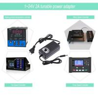 AC/DC Adjustable Switching Adapter 3-24V 2A Power Supply Motor Speed Controller