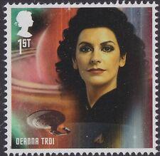 GB Star Trek Character Deanna Troi single (1 stamp) MNH 2020