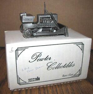 Case Crawler Tractor Bulldozer Dozer 1/43 Pewter Collectible Toy Spec Cast  850