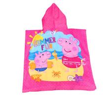 Kids girls beach bath pool swim hoodie towel cotton 2-6yrs popular xmas idea