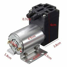DC12V Mini Vacuum Pump Negative Pressure Suction Pump 5L/min 120kpa + Holder