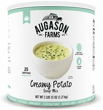 Augason Farms EMERGENCY Food Creamy Potato Soup Mix #10 Can PREPPER HURRICANE