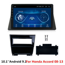 10.1'' Android 9.1 WIFI 3G 4G BT Car Stereo Radio GPS Nav For Honda Accord 08-13