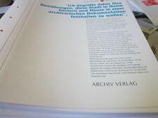 Hamburg Archiv 11 1933-1945 Vorwort Dr. Weichmann zum Kapitel 1933-1945