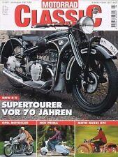MC0104 + BMW R 11 + OPEL Motoclub + NSU Prima + MOTORRAD CLASSIC 4 2001