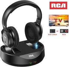 RCA Wireless TV Headphones, Over Ear Headphones for TV Watching, PC Phone MP3 iP