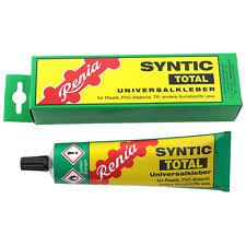 RENIA Colla Adesivo Syntic Total Kunststoffkleber PVC TR ABS gomma pelle feltro