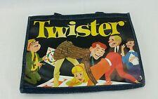"Denim Twister Game Handbag Licensed By Hasbro 14"" Wide."