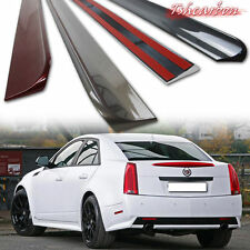 Painted For Cadillac CTS II 2nd Sedan Roof Window Spoiler Wing PUF 2008-2013 ㊤