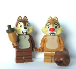 LEGO 2 Disney Chipmonk  Minifigure Chip And Dale Great Xmas Stocking Filler