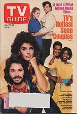 1985 TV Guide TV's Hottest Soap Couples July 20-26
