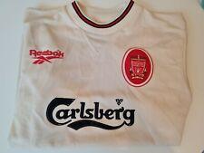 1996-97 LIVERPOOL FC FOOTBALL AWAY SHIRT XS