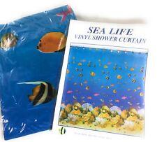 "Carnation Home ""Sealife"" Vinyl Shower Curtain"
