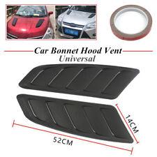 Car Air Flow Intake Hood Scoop Vent Bonnet Cover ABS Sticker Decoration 52x14CM