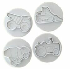 NEW  CONSTRUCTION THEME COOKIE STAMP SET  (1)