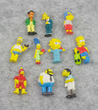 10pcs/set  The Simpsons mini Figures Character Figurines Cake Topper Toy